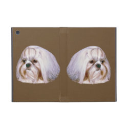 Powis iCase iPad Mini Case with Kickstand with Shih Tzu Phone Cases design