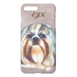 iPhone 7 Plus Case with Shih Tzu Phone Cases design