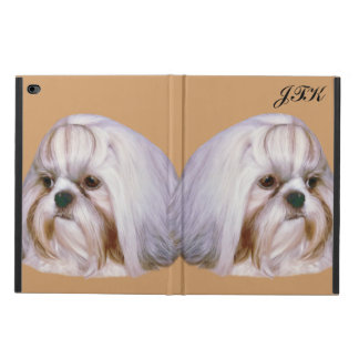 Shih Tzu Dog Customizable Monogram Powis iPad Air 2 Case