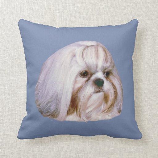 Shih Tzu Dog Customizable Throw Pillow Zazzle