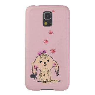 Shih Tzu Dog Cute Illustration Case For Galaxy S5