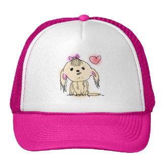 Shih Tzu Dog Cute Illustration Trucker Hat