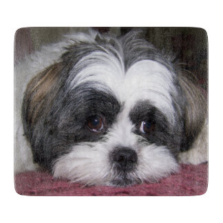 Shih Tzu Dog Cutting Board