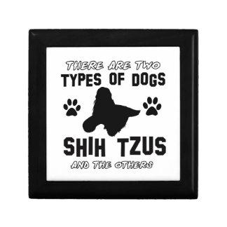 shih tzu dog Designs Gift Box