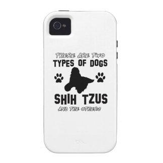 shih tzu dog Designs iPhone 4/4S Covers