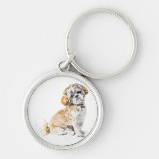 Shih Tzu Dog Key Chain/Keyring Keychain