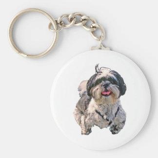Shih Tzu Dog Key Chain