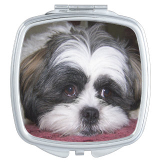 Shih Tzu Dog Makeup Mirror