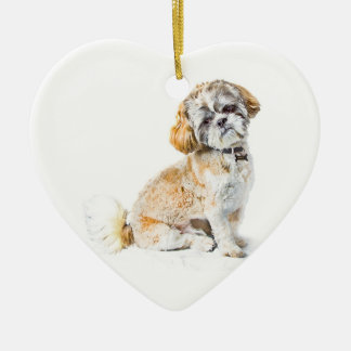 Shih Tzu Dog Ornament