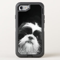 OtterBox Apple iPhone 7 Symmetry Case with Shih Tzu Phone Cases design