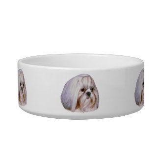 Shih Tzu Dog Pet Dish