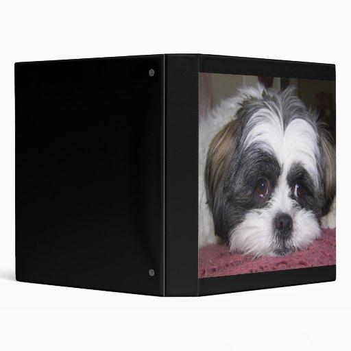 Shih Tzu Dog Photograph Binders