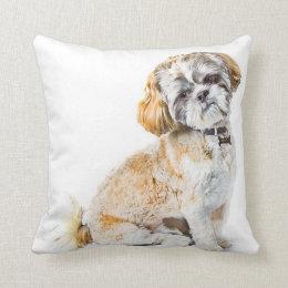 Shih Tzu Dog Pillow/Cushion Throw Pillow