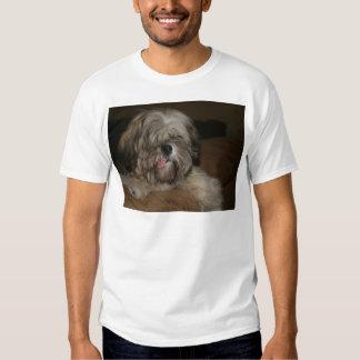 shih tzu dog puppy pet animal portrait picture t-shirt