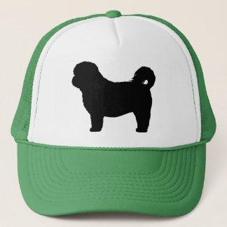 Shih Tzu Dog Silhouette Trucker Hat