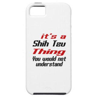 Shih Tzu Dog Thing Designs iPhone 5 Case
