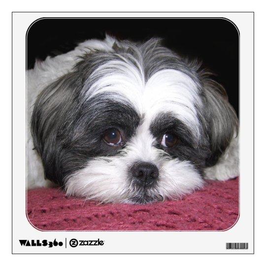 Shih Tzu Dog Wall Sticker