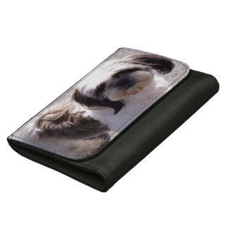 Shih Tzu Dog Leather Wallet For Women