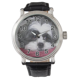 Shih Tzu Dog Wrist Watch