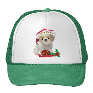 Shih Tzu Doll Santa Paws apparel Mesh Hats