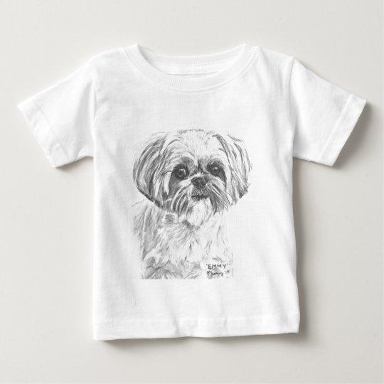 Shih Tzu Drawing Baby T-Shirt