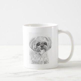 Shih Tzu Drawing Coffee Mug