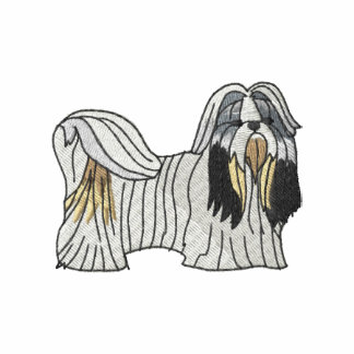 Shih Tzu Embroidered Hoodie
