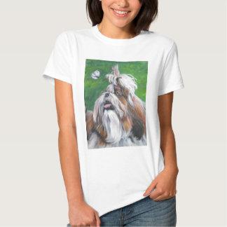 shih tzu fine art dog painting shirt