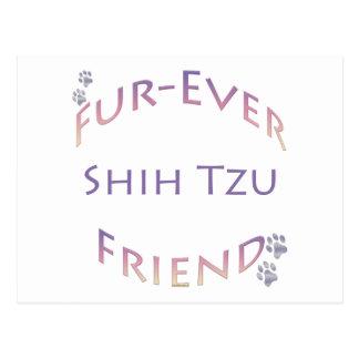 Shih Tzu Furever Friend Postcard