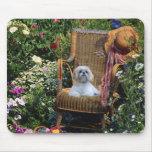 Shih Tzu Garden Mousepad