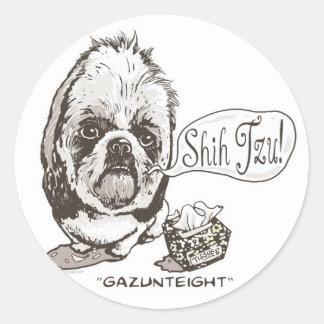 Shih Tzu Gazunteight Gift Item Sticker