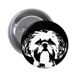 Shih Tzu Gifts - Button