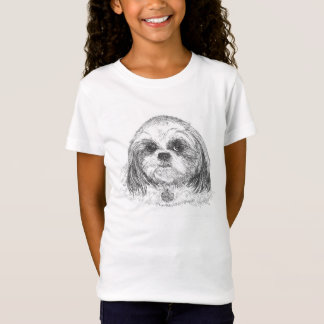Shih Tzu Girls T-Shirt