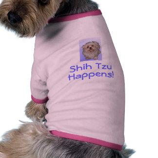 Shih Tzu, Happens! Pet T Shirt
