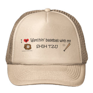 shih tzu trucker hat