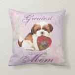 Shih Tzu Heart Mom Pillows