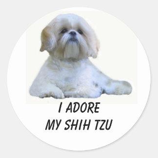 Shih Tzu I Adore Sticker