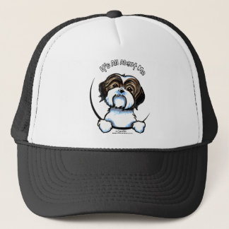 Shih Tzu Its All About Me Trucker Hat