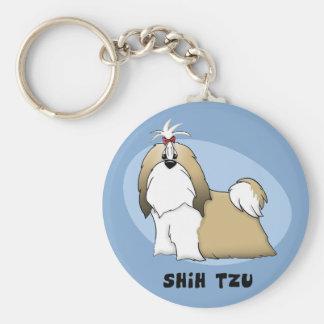 Shih Tzu Keychain