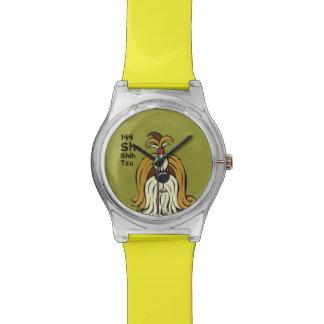 Shih Tzu - la tabla del perro Reloj De Mano