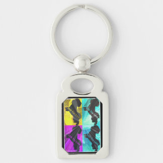 Shih Tzu Love Key Chain by Carol Zeock