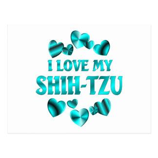SHIH-TZU Love Postcard