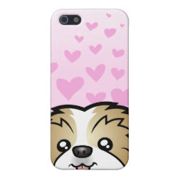 Case Savvy iPhone 5 Matte Finish Case with Shih Tzu Phone Cases design