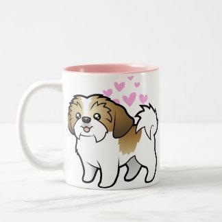 Shih Tzu Love puppy cut Coffee Mugs
