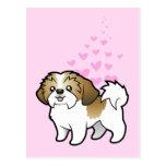 Shih Tzu Love (puppy cut) Postcards