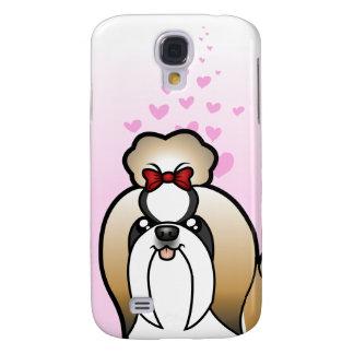 Shih Tzu Love (show cut) Galaxy S4 Cover