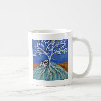 Shih Tzu Love Spritual Tree Coffee Mug