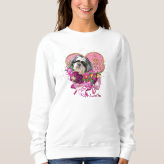 Shih Tzu Love Women's Basic Sweatshirt