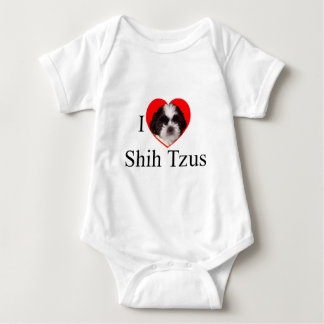 Shih Tzu Lovers Apparel for the Entire Family Baby Bodysuit