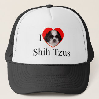 Shih Tzu Lovers Apparel for the Entire Family Trucker Hat